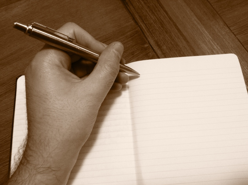 There is something magical about a blank page.