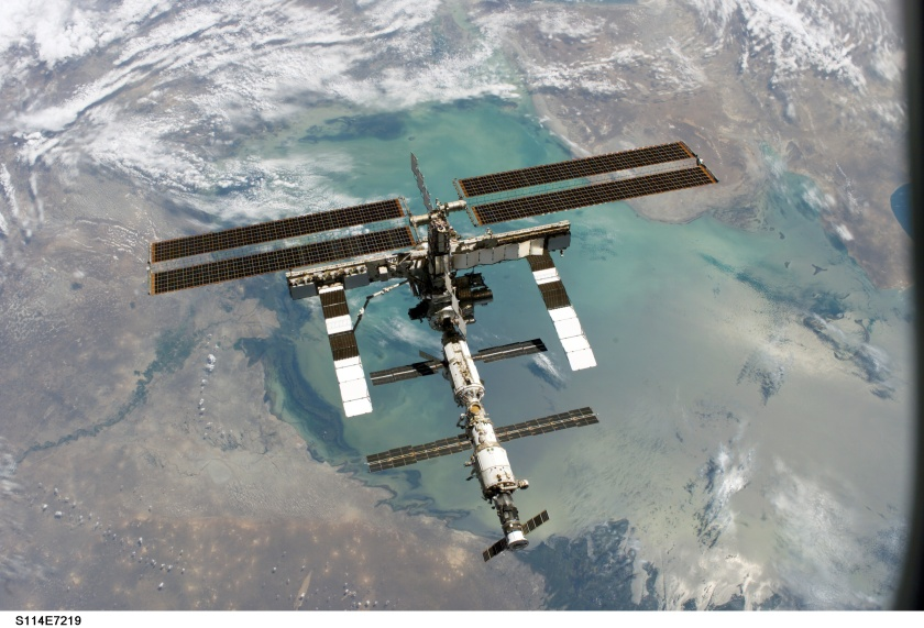 International Space Station - August 2005