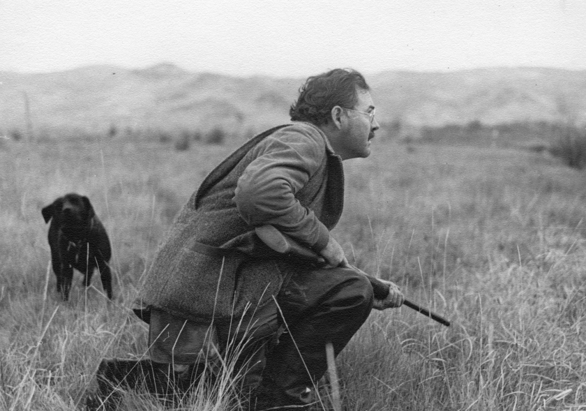 Fact: Hemingway overcame writer's block by sheer force of his masculinity.