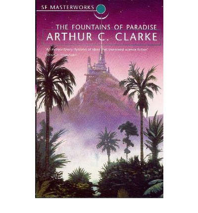 "Arthur C. Clarke imagined a space elevator in his 1979 novel ""The Fountains of Paradise."""
