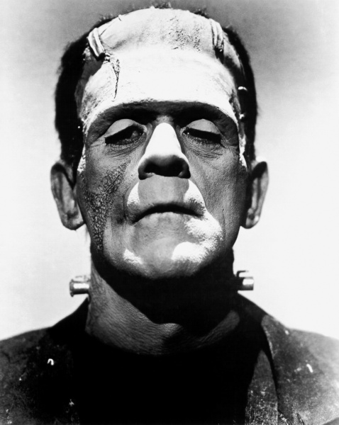 "Modern standards of beauty want us to believe that Frankenstein's monster is ""unnatural."""