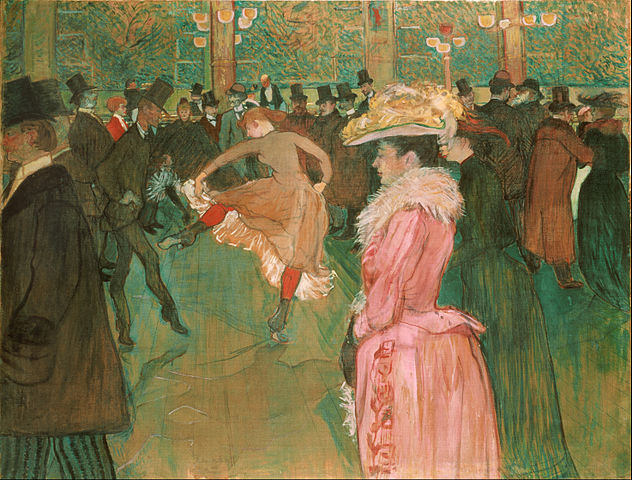 "Henri de Toulouse-Lautrec's ""At the Moulin Rouge"" (1890)"
