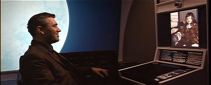 "It's magic!! Kubrick's ""2001: A Space Odyssey"" features a rather long scene of a videophone, showcasing how awesome the future would be. Such technology!"