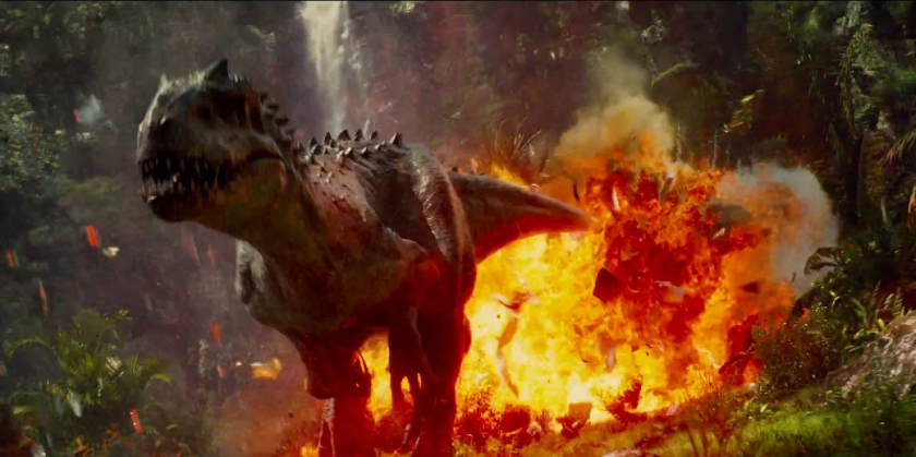 For all its genetic modification, Indominus Rex looks like just another dinosaur.