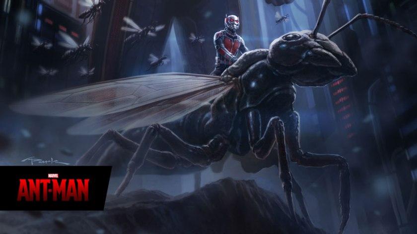 Marvel's concept art for the film.