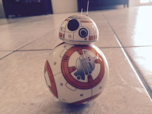 BB-8 spent the entire night and most of the next morning doing laps of my living room.
