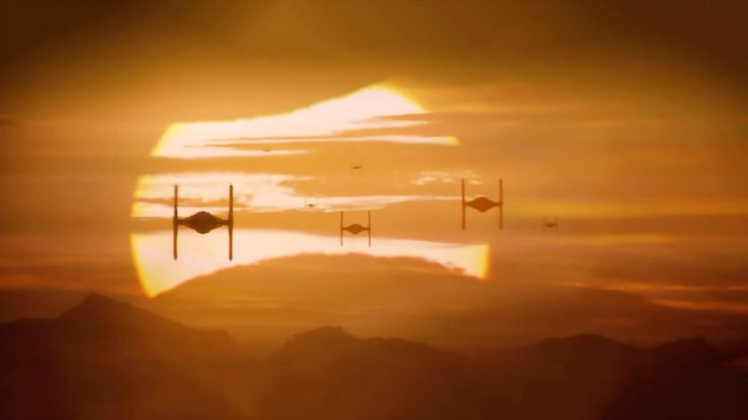 tie fighters the force awakens