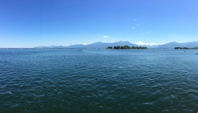 The day we spent at the Chiemsee was incredible.