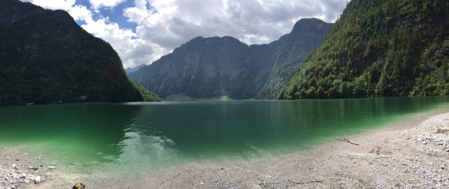 The Königssee - one of the most gorgeous lakes in Germany.