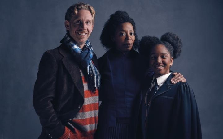 harry potter cursed child cast weasleys