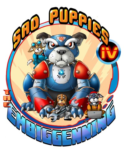 The Sad Puppies 4 logo