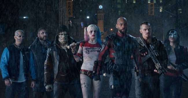 Will Smith and Margot Robbie lead the cast of misfits and criminals.