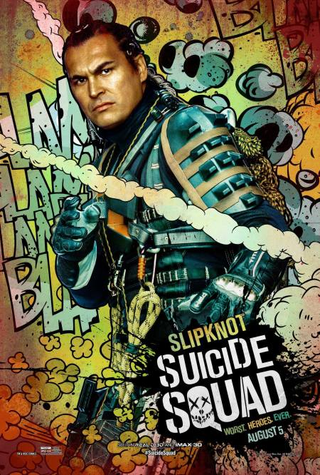 It's baffling that Slipknot gets his own poster, considering he has about three lines of dialogue before his head explodes.
